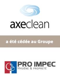 AURIS Finance accompagne la cession de la société AXECLEAN