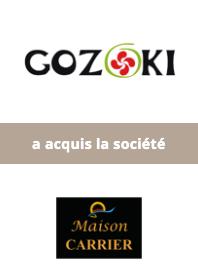 AURIS Finance accompagne le Groupe Gozoki dans l'acquisition de Maison Carrier
