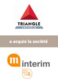AURIS Finance accompagne le Groupe Triangle dans son développement européen via l'acquisition de la société belge M-Intérim