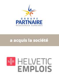 AURIS Finance accompagne le Groupe PARTNAIRE dans son développement européen via l'acquisition de HELVETIC EMPLOIS en Suisse