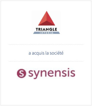 Auris Finance advised Triangle Interim Group in the acquisition of Synensis