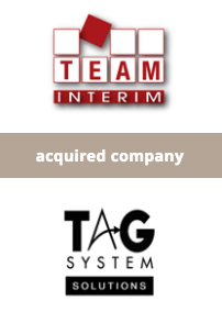 TEAM INTERIM Group acquires TAG SYSTEM SOLUTIONS