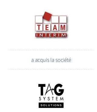 Team Interim - TAG SYSTEM SOLUTIONS