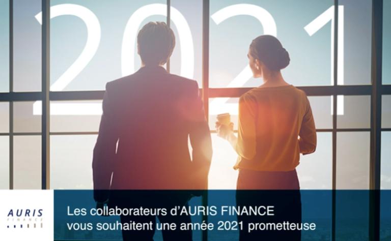 Meilleurs vœux d'Auris Finance