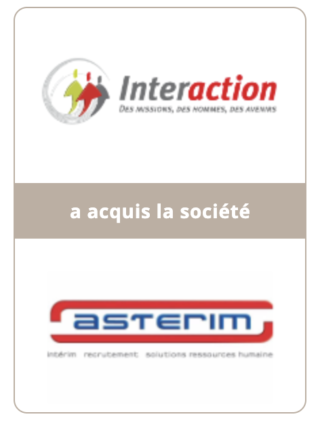 AURIS Finance conseille INTERACTION dans la reprise d'ASTERIM
