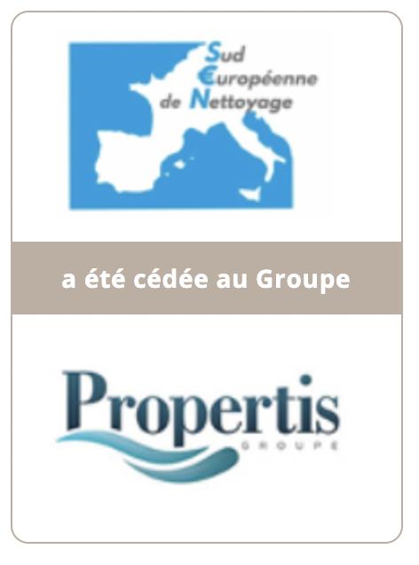Sud Européenne de Nettoyage a été cédée au groupe Propertis