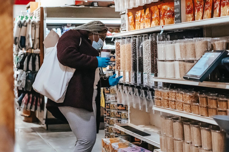 supermarché vrac alimentaire