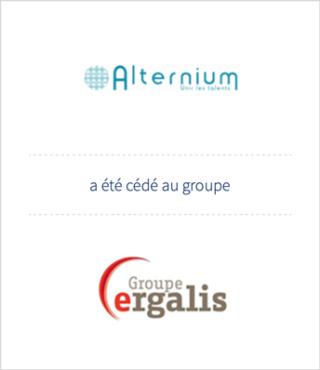 AURIS Finance conseille la cession de la société ALTERNIUM auprès d'ERGALIS