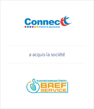 AURIS Finance accompagne CONNECTT dans son acquisition de BREF SERVICE