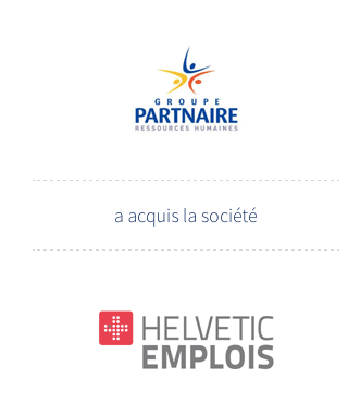 Auris Finance supports the PARTNAIRE Group in its European development through the acquisition of HELVETIC EMPLOI in Switzerland